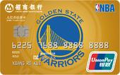 招商NBA联名卡勇士球队卡