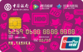 中银银联腾讯视频联名卡