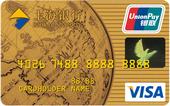 上海银行VISA双币种金卡