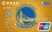 招商NBA聯名卡勇士球隊卡